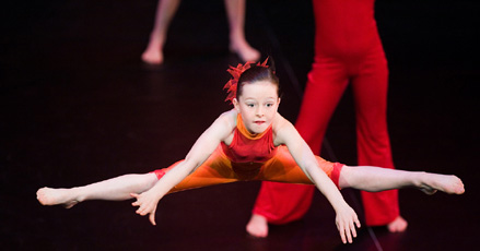 Children's modern dance classes
